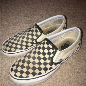 Checkered Board Vans